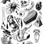 classic tattoo illustrations