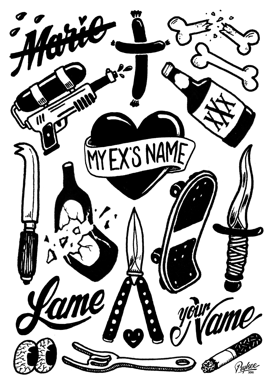 RYLSEE Tattoos